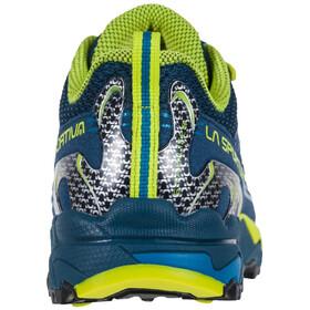 La Sportiva Falkon Low Zapatillas Niños, azul/amarillo